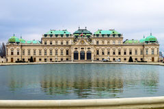 Austria, vienna, belvedere castle Stock Photos