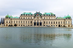 Austria, vienna, belvedere castle Royalty Free Stock Photography