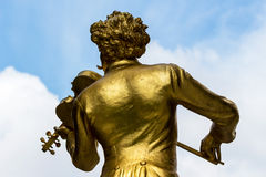 Austria, vienna, johann strauss monument Royalty Free Stock Images