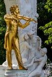 Austria, vienna, johann strauss monument Royalty Free Stock Image