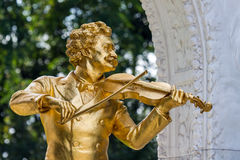 Austria, vienna, johann strauss monument Royalty Free Stock Photography