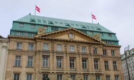 Austria; Vienna; October 21, 2018; Park Hyatt Vienna, one of the most luxurious hotel in Vienna stock image