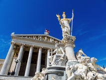 Austria, vienna, parliament Stock Photo