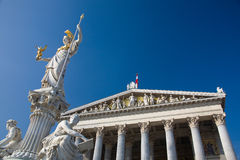 Austria, Vienna, Parliament, Royalty Free Stock Photography
