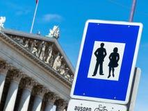 Austria, vienna, parliament Royalty Free Stock Photo