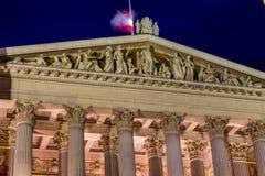 Austria, vienna, parliament Stock Photography