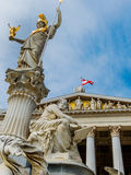 Austria, vienna, parliament Royalty Free Stock Photography