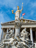 Austria, vienna, parliament Royalty Free Stock Images