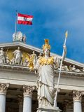 Austria, vienna, parliament Royalty Free Stock Photo