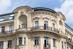 Austria, vienna, wien row houses Stock Photo