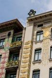 Austria, Vienna, wien rzędów domy Obraz Stock