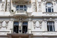 Austria, Vienna, wien rzędów domy Zdjęcie Royalty Free