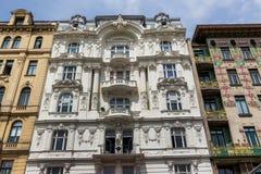 Austria, Vienna, wien rzędów domy Fotografia Royalty Free