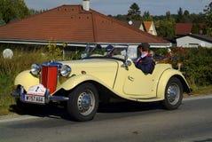 Austria_vintage-Auto Stockfotos