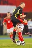 Austria vs. Belgium Royalty Free Stock Photos