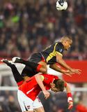 Austria vs. Belgium Stock Images
