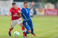 Austria vs. Bosnia and Herzegovina (U19) Stock Photo