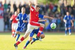Austria vs. Bosnia and Herzegovina (U19) Stock Photos