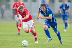 Austria vs. Bosnia and Herzegovina (U19) Royalty Free Stock Photography