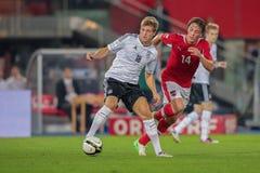 Austria vs. Germany Royalty Free Stock Photography
