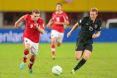 Austria vs. Ireland Royalty Free Stock Image