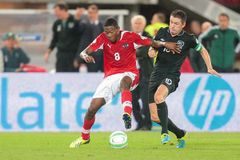 VIENNA, AUSTRIA - SEPTEMBER 10 David Alaba (#8