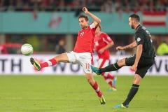 Austria vs. Ireland Royalty Free Stock Photography