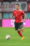 Austria vs. Montenegro Royalty Free Stock Photos
