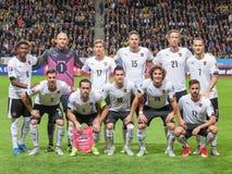 Austria vs. Sweden Royalty Free Stock Photo