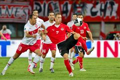 Austria vs. Turkey Royalty Free Stock Photography
