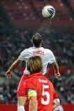 Austria vs. Turkey Stock Photo