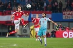 Austria vs. Turkey Royalty Free Stock Image