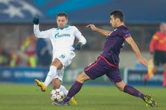 Austria vs. Zenit St. Petersburg Royalty Free Stock Image