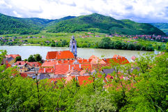 Austria Wachau village. In Europe Royalty Free Stock Photography
