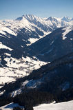 Austria - Wycieczkujący w Kitzbà ¼ heler Alps Zdjęcia Royalty Free