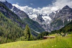 austria wysokogórski widok górski Zdjęcia Stock