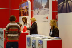 austria wystawa tt Warsaw Zdjęcia Royalty Free