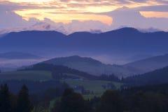 austria wzgórza Fotografia Stock