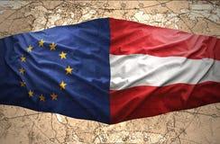 Austria y unión europea libre illustration