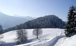 austria zakrywał dachstein gór śnieg Obrazy Stock
