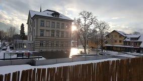 austria zima obrazy stock