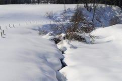 Austria, zima krajobraz Fotografia Royalty Free