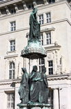Austriabrunnen fountain, Vienna Stock Image