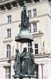 Austriabrunnen fountain, Vienna Stock Image
