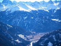 Austriaccy Alps Europa Obraz Royalty Free