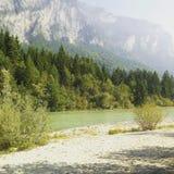 Austriaccy Alps, piękny widok Fotografia Royalty Free