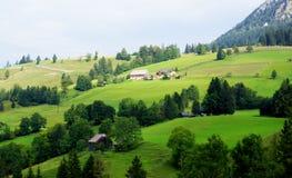austriacka górska wioska Zdjęcia Royalty Free