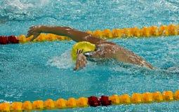 Austriacka pływaczka Sebastian STEFFAN AUT Zdjęcia Royalty Free