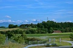 Austriacka wieś Zdjęcie Royalty Free