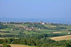 Austriacka wieś, Strengberg Obrazy Stock